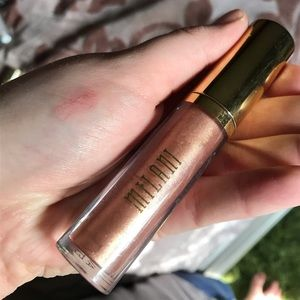 Milani lip plumping gloss 02 nude shimmer gloss